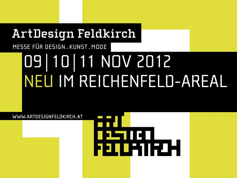 ArtDesign Feldkirch // Messe für Design.Kunst.Mode // November 2012